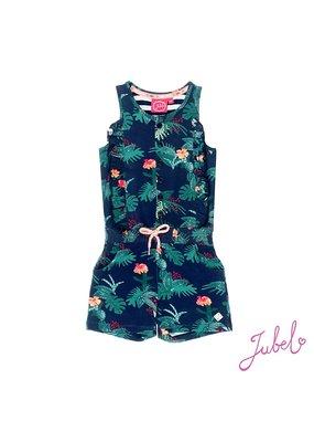 Jubel Jubel playsuit Botanic Blush marine