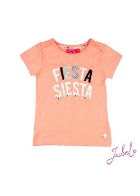 Jubel Jubel shirt Fiesta Siesta Botanic Blush neon koraal