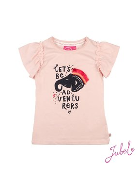 Jubel Jubel shirt Let's Be Adventurers Stargazer roze