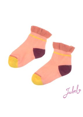 Jubel Jubel sokken Stargazer koraal