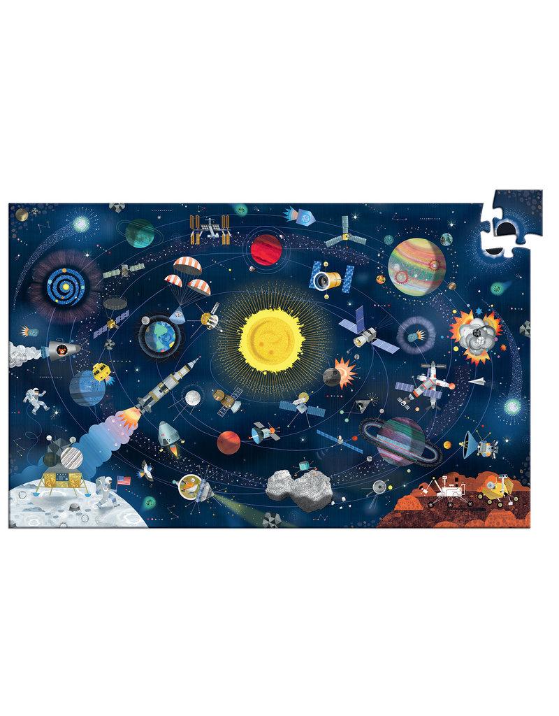Djeco Djeco observatie puzzel Space 200 stukjes DJ07413