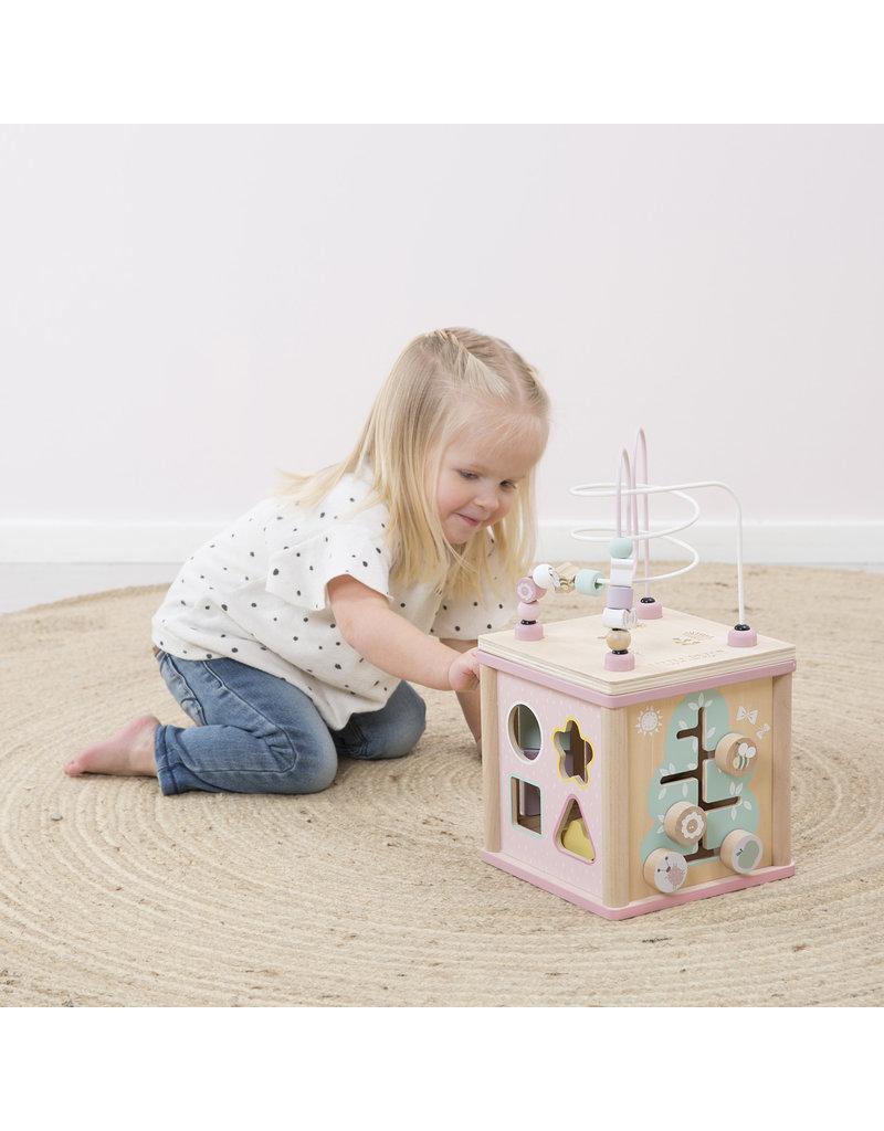 Little Dutch Little Dutch activiteiten kubus pink