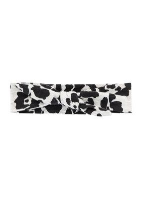 Quapi Quapi hoofdband Ashley dark grey leopard