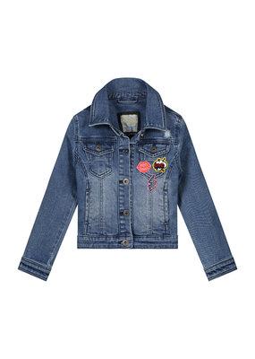 Quapi Quapi denim jacket Amelie blue denim