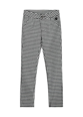 Levv Levv broek Frieke black white bb check