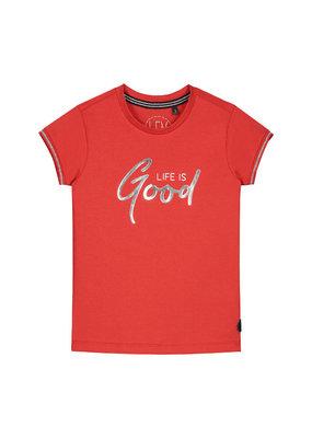 Levv Levv shirt Gijsje fiery red animal