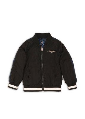 Koko Noko Koko Noko jacket all over print blue black
