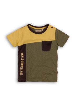 Koko Noko Koko Noko shirt  army melee yellow dark grey