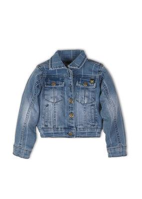 Koko Noko Koko Noko jacket  blue jeans stipe