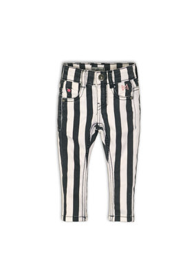 Koko Noko Koko Noko jeans stripes black white