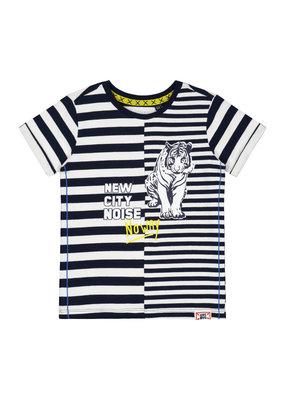 Quapi Quapi shirt Bent dark blue stripe