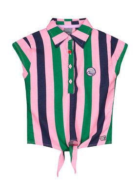 Quapi Quapi blouse Amine multi colour stripe