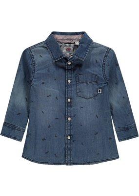 Tumble 'n Dry Tumble n Dry blouse Toran rinsed denim
