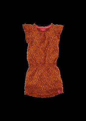 Z8 Z8 jurk Lyla cognac leopard
