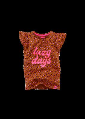 Z8 Z8 shirt Ulrike cognac leopard aop