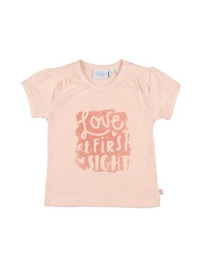 Feetje Feetje shirt Love at Shells l.roze