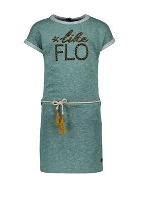 Like Flo Like Flo dress melee sweat turquoise