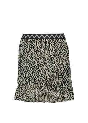 Like Flo Like Flo skirt ruffle graphic