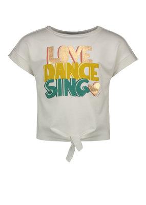 Like Flo Like Flo shirt Love-dance-sing off white