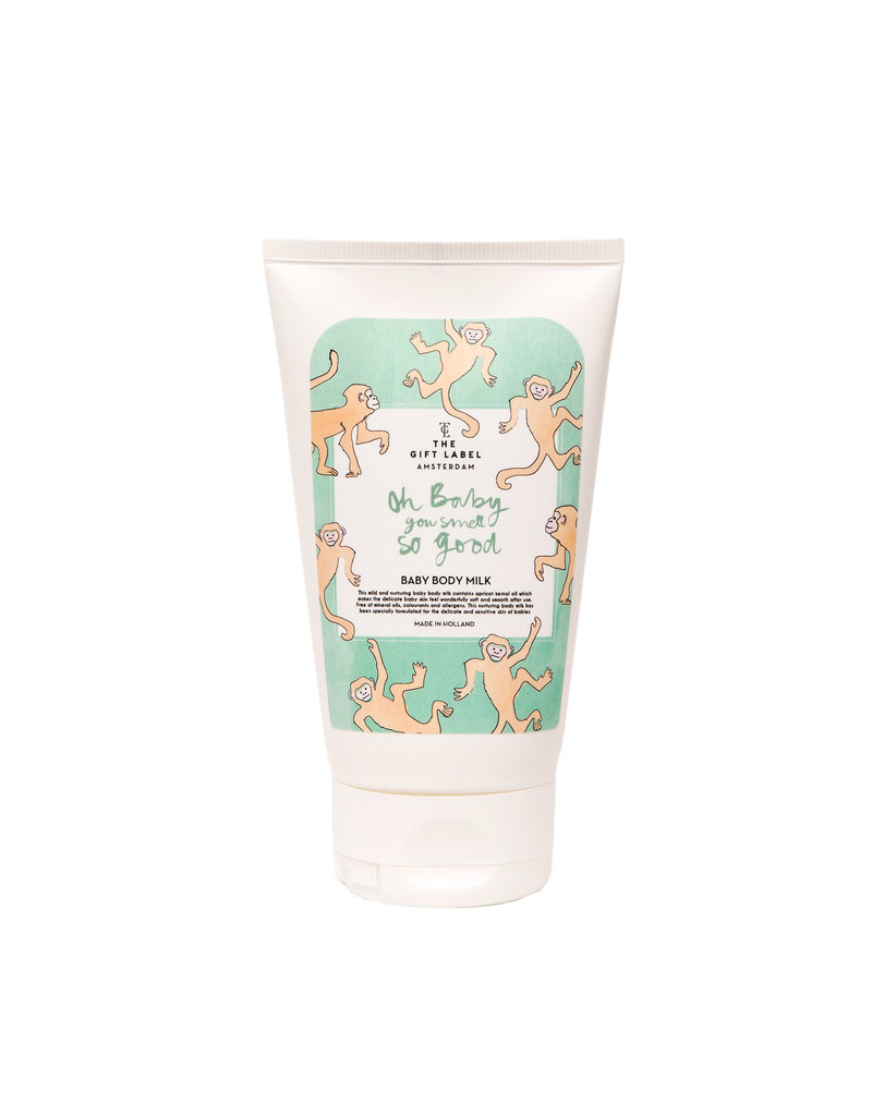 Gift Label The Gift Label body milk Oh Baby you smell so good
