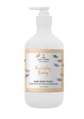 Gift Label The Gift Label body wash It is time for bubbles
