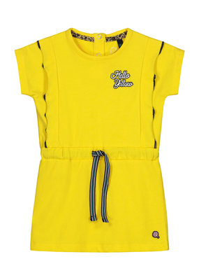 Quapi Quapi jurk Baukje banana yellow
