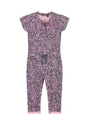 Quapi Quapi jumpsuit Bess light pink leopard