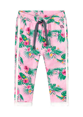 Quapi Quapi broek Britt light pink flower