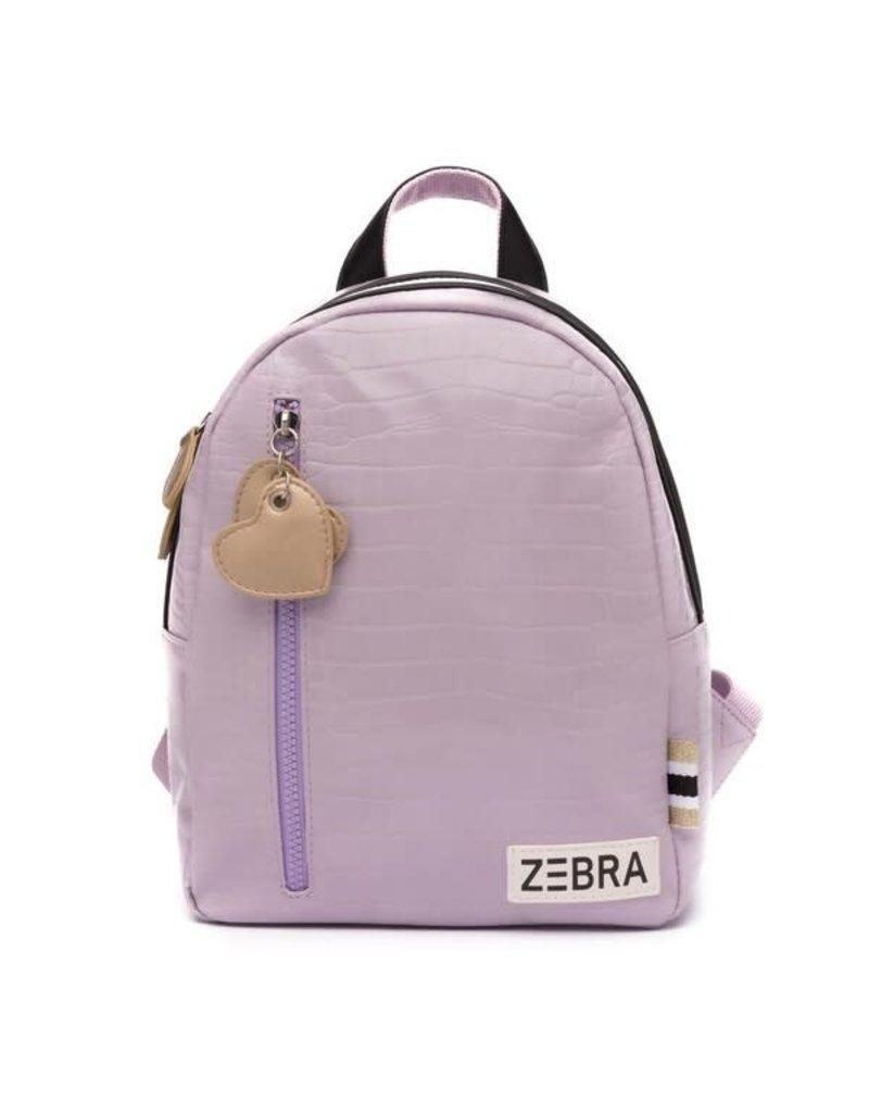 Zebra Zebra rugzak croco purple S