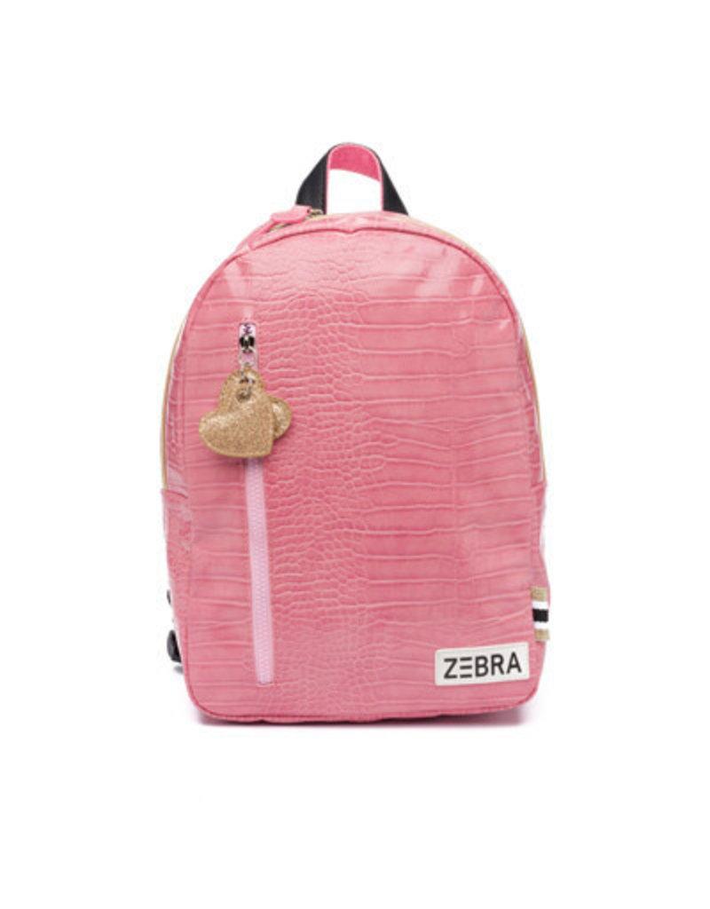 Zebra Zebra rugzak croco pink M