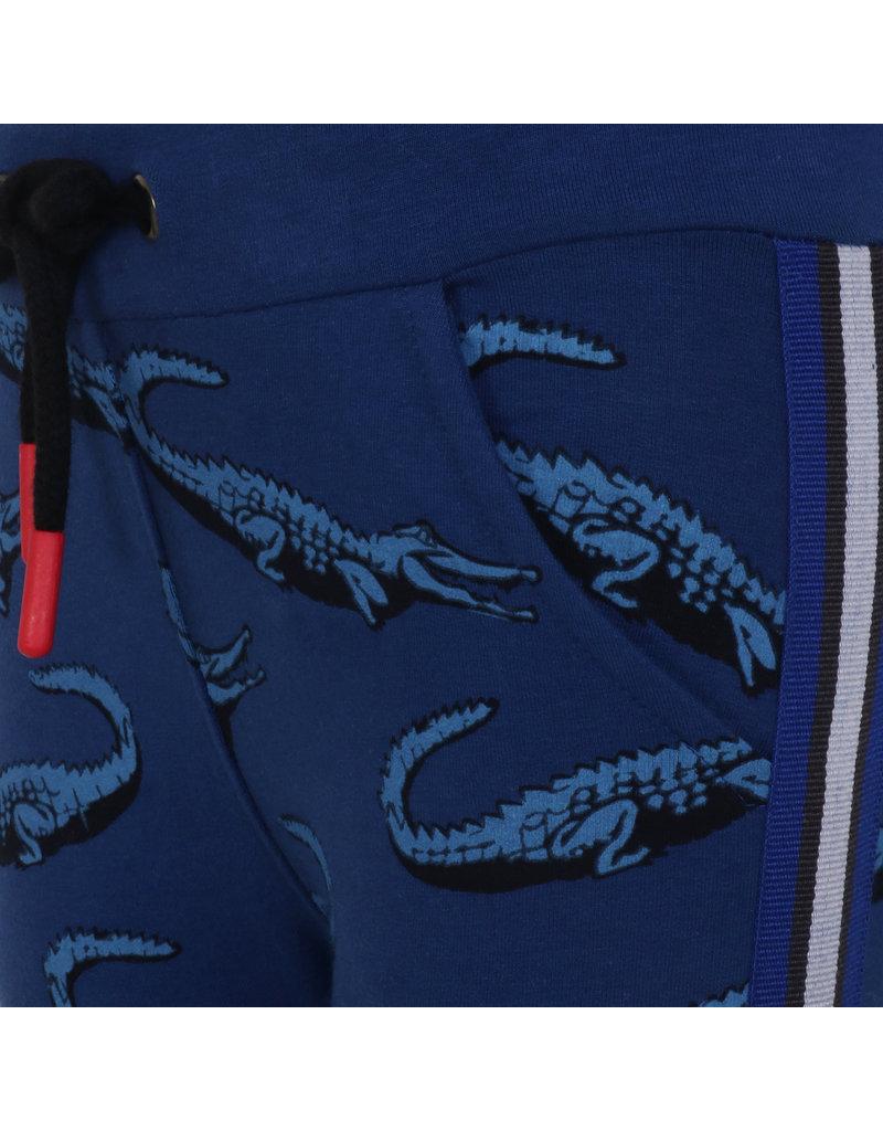 Beebielove Beebielove sweatpants Crocodille blue