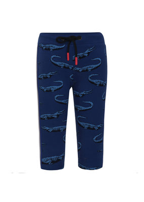 Beebielove Beebielove sweatpants Crocodille blue