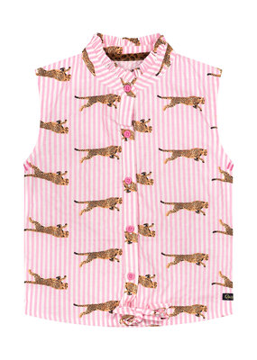 Quapi Quapi blouse Anneke light pink stripe