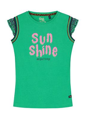 Quapi Quapi shirt Amber jungle green