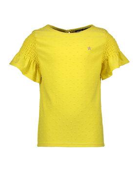Like Flo Like Flo top viscose dot yellow