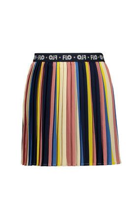 Like Flo Like Flo skirt multi plisse