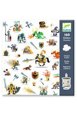 Djeco Djeco stickers ridders dj08886