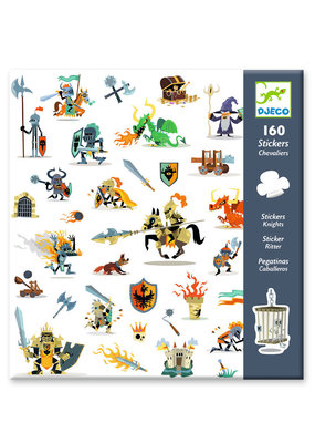 Djeco Djeco stickers ridders