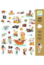Djeco Djeco stickers piraten dj08839