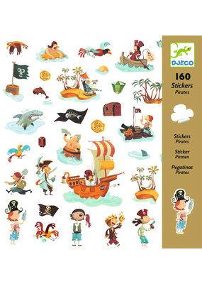 Djeco Djeco stickers piraten