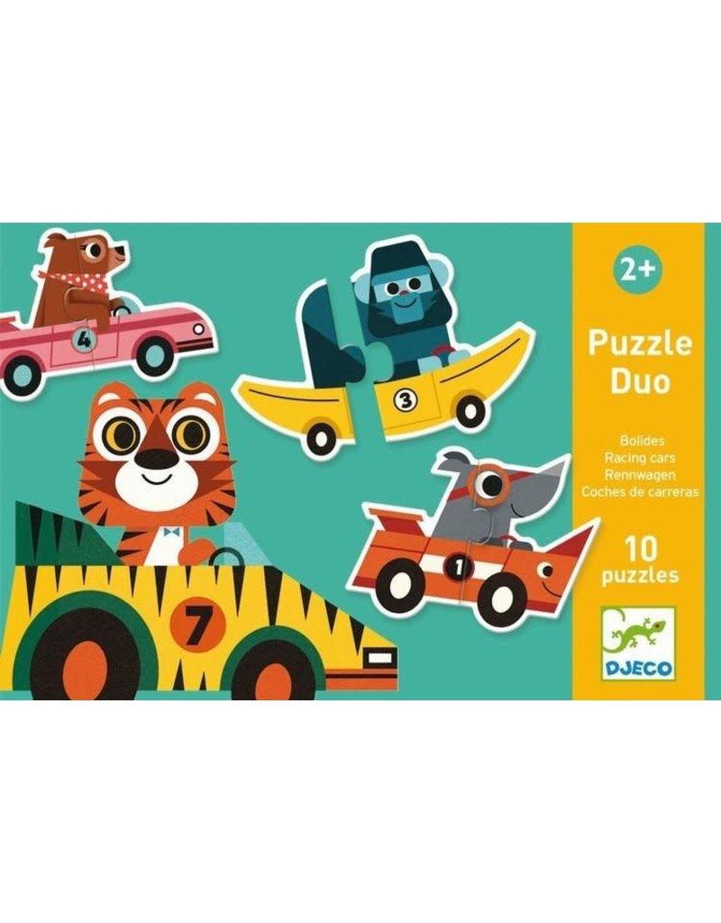 Djeco Djeco duo puzzel Bolide dj08148