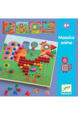 Djeco Djeco mozaiekpuzzel dieren dj08137