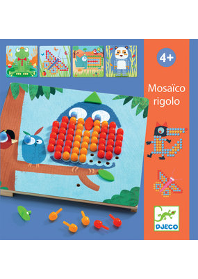 Djeco Djeco mozaiekpuzzel Rigolo