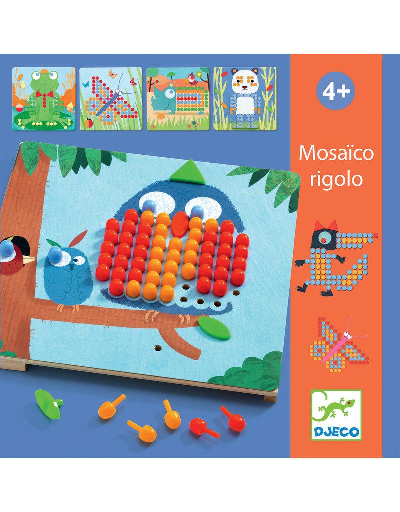 Djeco Djeco mozaiekpuzzel Rigolo dj08136