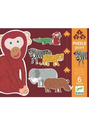 Djeco Djeco puzzel wilde dieren