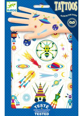 Djeco Djeco Tattoo's ruimtevaart