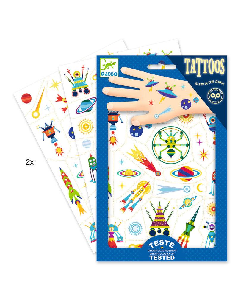 Djeco Djeco Tattoo's ruimtevaart dj09590