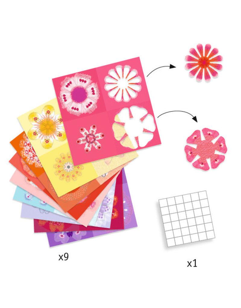 Djeco Djeco Origami Bloemen Vouwen dj09403