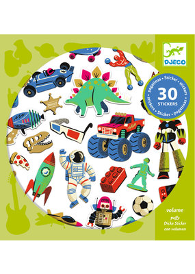 Djeco Djeco stickers retro speelgoed