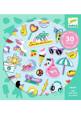 Djeco Djeco stickers california